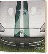 2005 Jaguar Xkr Stirling Moss Signature Edition Wood Print