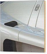 2005 Maserati Mc12 Emblem Wood Print