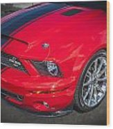 2007 Ford Mustang Shelby Gt500 427  Wood Print