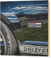 2007 Ford Mustang Shelby Gt500 Painted   Wood Print