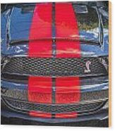 2007 Ford Shelby Gt 500 Mustang Wood Print