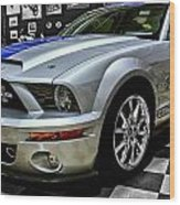 2008 Ford Mustang Shelby Wood Print