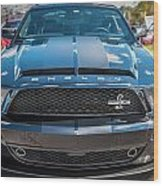 2008 Ford Shelby Mustang Gt500 Kr Painted Wood Print