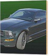 2008 Mustang Bullitt Wood Print
