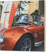 2009 Cobra Front And Side View Wood Print by John Telfer