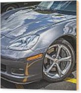 2010 Chevy Corvette Grand Sport Hdr Wood Print
