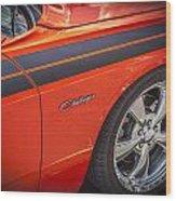 2010 Dodge Challenger Rt Hemi Wood Print