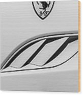 2010 Ferrari California Side Emblem Wood Print