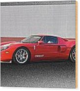 2011 Ford Gt Iv Wood Print