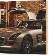 2011 Mercedes-benz Sls Amg Gullwing Wood Print