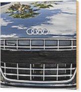 2012 Audi R8 Quattro Wood Print