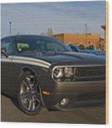 2012 Dodge Challenger R/t Classic Wood Print
