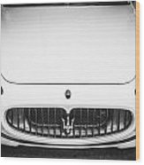 2012 Maserarti Gran Turismo S Bw Wood Print