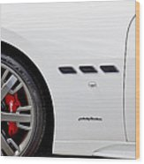 2012 Maserati Gran Turismo S Wood Print