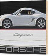 2012 Porsche Cayman R Wood Print