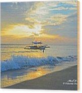 2013 12 26 02 A Sunset Wood Print