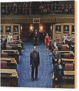 2013 Arizona Senate Portrait Wood Print