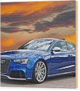 2013 Audi Rs5 Sports Coupe Wood Print