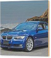 2013 Bmw 328i Sports Coupe Wood Print