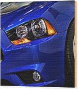2013 Dodge Charger Daytona Wood Print
