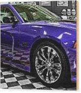 2013 Dodge Charger Wood Print