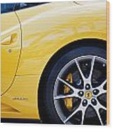 2013 Ferrari Wood Print