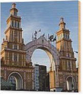 2013 Gateway To Feria De La Seville Wood Print
