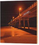 2014 02 06 01 A Okaloosa Island Pier 0195 Wood Print