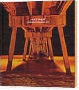 2014 02 06 01 Okalossa Island Pier 0213 Wood Print