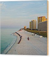2014 08 05 01 Navarre Beach 100 Wood Print
