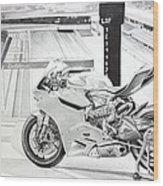 2014 1199 Ducati Panigale Wood Print