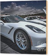2014 Chevrolet Stingray Wood Print