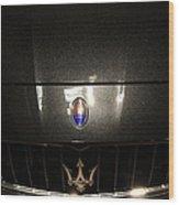 2014 Maserati Quattroporte S Q4 Sport Sedan 5d27007 Wood Print