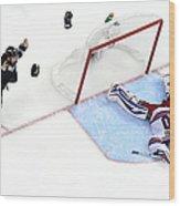2014 Nhl Stanley Cup Final - Game Five Wood Print