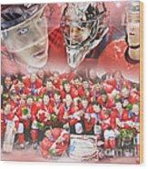 2014 Team Canada Wood Print