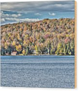 201410020-036d1 Autumn Forest North Shore Hdr1 2x3 Wood Print