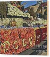 2015 Cal Poly Rose Parade Float 15rp052 Wood Print