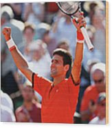 2015 French Open - Day Eleven Wood Print