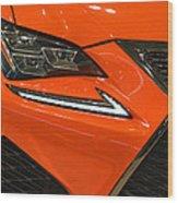 2015 Lexus Front End Wood Print