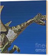 2015 Rose Parade Float Showing A Dragon 15rp039 Wood Print