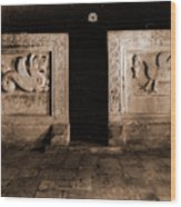 Abruzzo, Laquila, Bominaco Wood Print