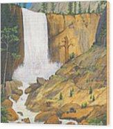 21 Bears Of Yosemite National Park Wood Print