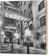 Butlers Wharf London Wood Print
