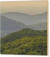 Scenery Around Lake Jocasse Gorge Wood Print
