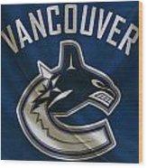 Vancouver Canucks Wood Print