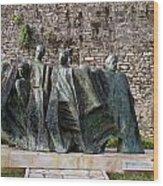 Views From Corfu Greece Wood Print