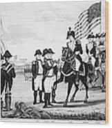 Yorktown: Surrender, 1781 Wood Print