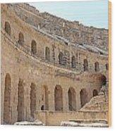 Amphitheatre Wood Print