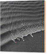 Feature - Bore Tide Surfing In Alaska Wood Print