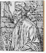 John Wycliffe (1320?-1384) Wood Print